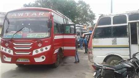 किराया बढ़ोतरी के आश्वासन पर यात्री बस सुविधा शुरू -